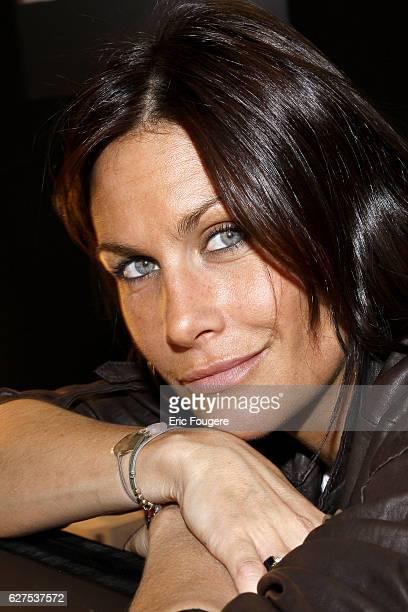 Astrid Veillon attends the 2008 'Salon du Livre' in Paris