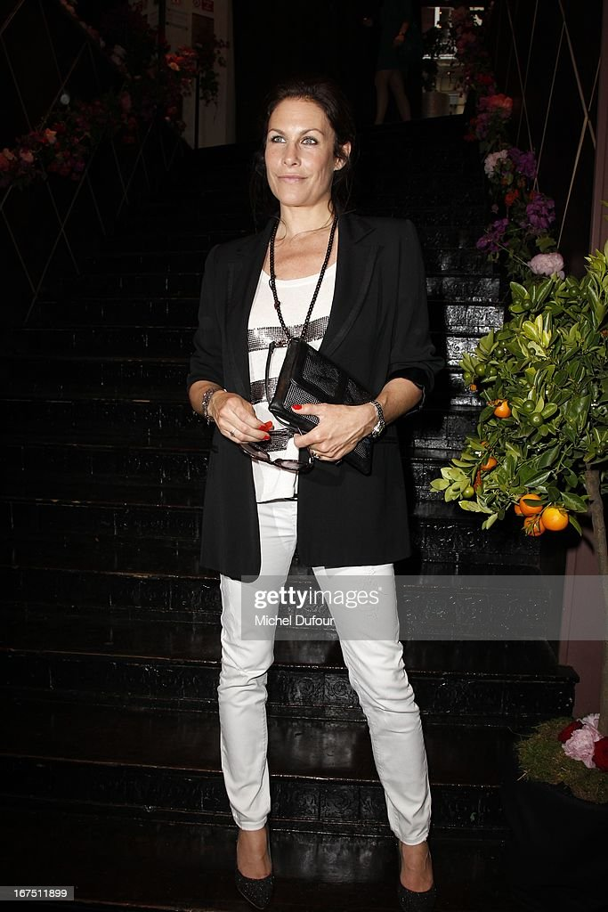 Astrid Veillon attends the 'Les P'tits Cracks' charity dinner at Pavillon Champs-Elysees on April 25, 2013 in Paris, France.