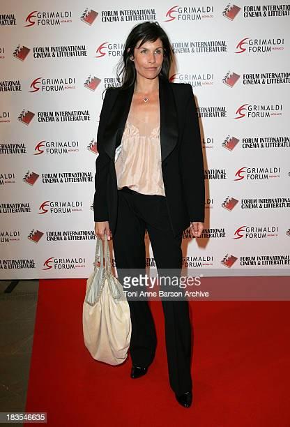 Astrid Veillon during 2007 International Forum of Cinema Literature Arrivals at Grimaldi Forum in Monte Carlo Monaco
