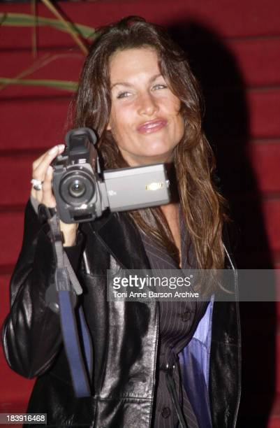 Astrid Veillon during SaintTropez Fiction Television Festival 2001 Closing Ceremony at Place des Lices in SaintTropez France
