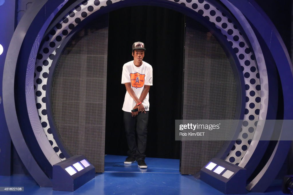 Astro Kid visits at BET's 106 & Park at BET studios on July 1, 2014 in New York City.