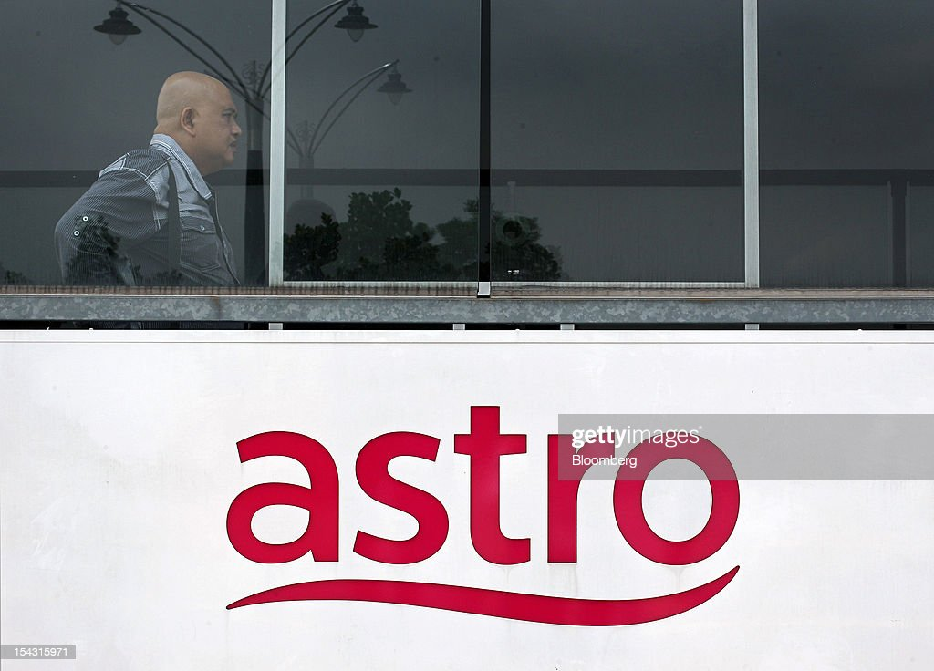 Astro Malaysia Holdings Bhd. signage is displayed at the company's headquarters in Kuala Lumpur, Malaysia, on Thursday, Oct. 18, 2012. Astro Malaysia, the country's largest pay-TV broadcaster that raised 4.6 billion ringgit ($1.5 billion) in an initial public offering, is scheduled to begin trading at 9am tomorrow. Photographer: Goh Seng Chong/Bloomberg via Getty Images