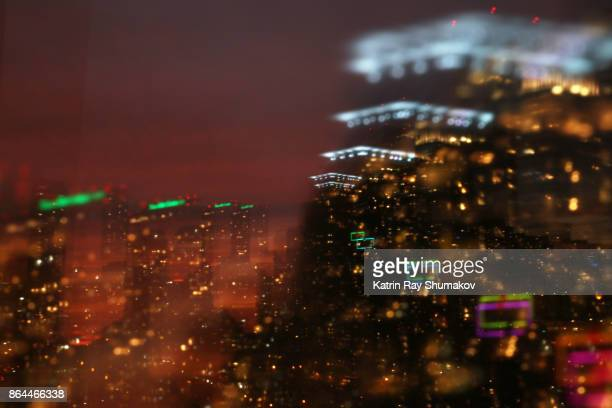 Astro Projection. Through Night Cityscapes of Jazzy Dimensions