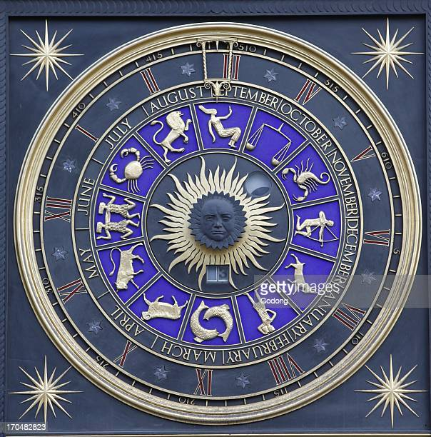 Astrological signs London Great Britain