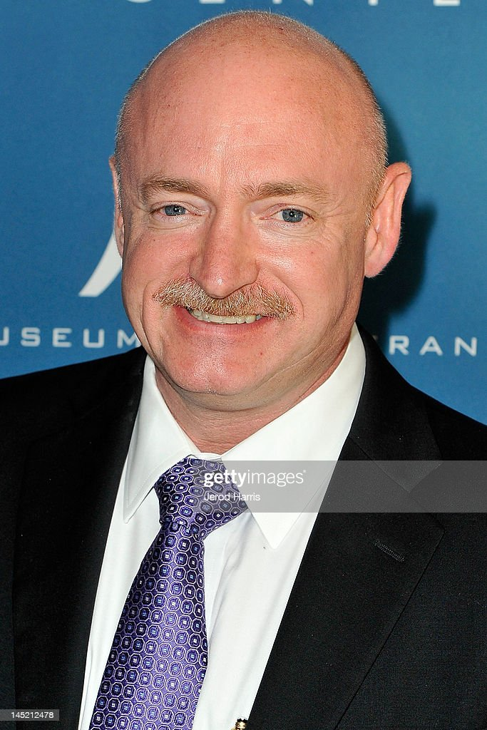 Astronaught Mark Kelly arrives at Simon Wiesenthal Center's Annual National Tribute Dinner Honoring Jerry Bruckheimer, in The Beverly Hills Hilton, on May 23, 2012 in Beverly Hills, California.