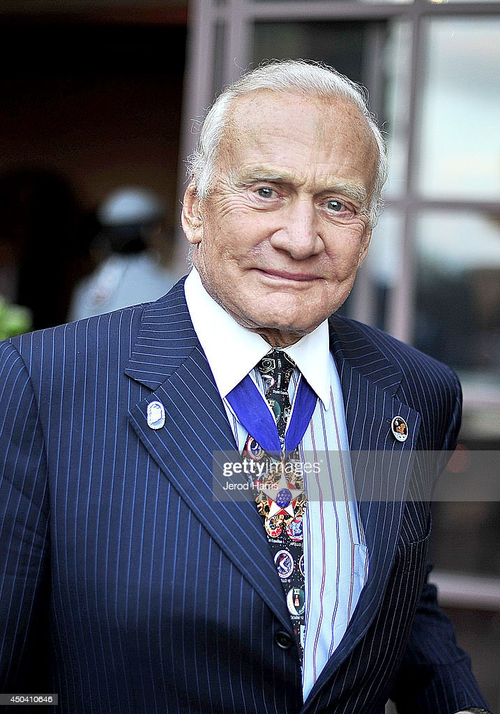 Astronaut <a gi-track='captionPersonalityLinkClicked' href=/galleries/search?phrase=Buzz+Aldrin&family=editorial&specificpeople=90480 ng-click='$event.stopPropagation()'>Buzz Aldrin</a> attends a gala to celebrate Etihad Airways' world-class, non-stop service between Los Angeles and Abu Dhabi at the iconic Beverly House on June 10, 2014 in Beverly Hills, California.