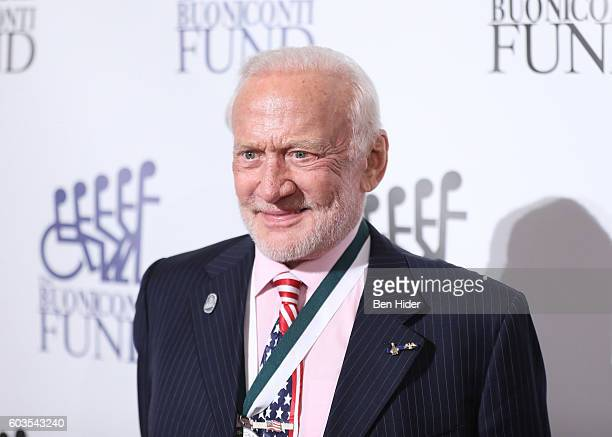 Astronaut Buzz Aldrin attends the 31th Annual Great Sports Legends Dinner to benefit The Buoniconti Fund to Cure Paralysis at The Waldorf Astoria...