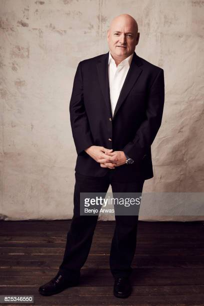Astronaut Capt Scott Kelly of PBS's 'Beyond a Year in Space' poses for a portrait during the 2017 Summer Television Critics Association Press Tour at...