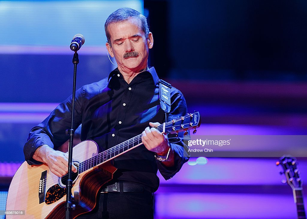 Astronaut <a gi-track='captionPersonalityLinkClicked' href=/galleries/search?phrase=Chris+Hadfield&family=editorial&specificpeople=2700911 ng-click='$event.stopPropagation()'>Chris Hadfield</a> performs onstage during 'WE Day Vancouver' at Rogers Arena on October 21, 2015 in Vancouver, Canada.