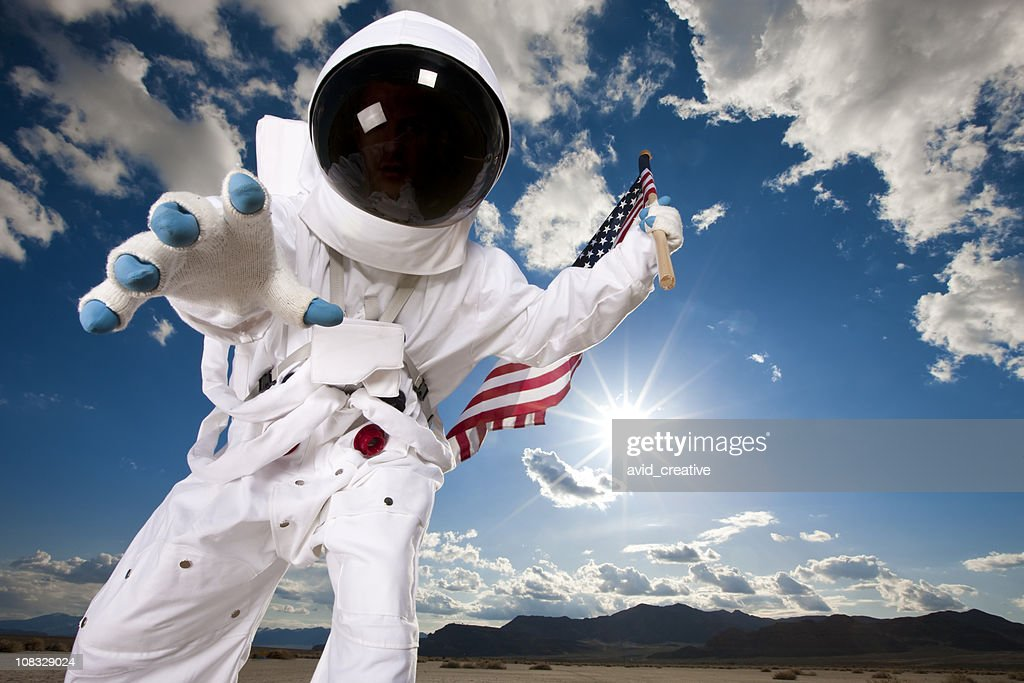 Astronaut Exploration : Stock Photo