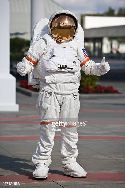 Astronaut giving a thumbs up