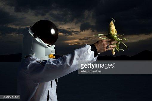 宇宙飛行士保持トウモロコシの将来エタノール