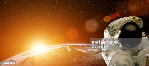 宇宙飛行士のスペース