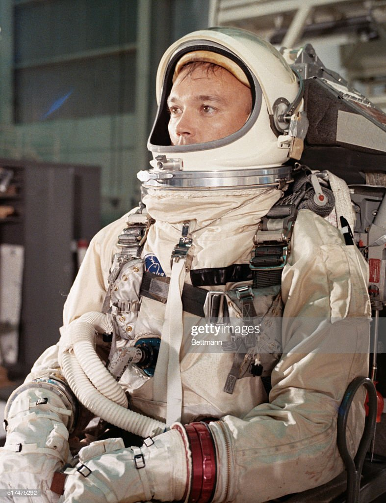 Astronaut <a gi-track='captionPersonalityLinkClicked' href=/galleries/search?phrase=Michael+Collins+-+Astronaut&family=editorial&specificpeople=95470 ng-click='$event.stopPropagation()'>Michael Collins</a> during training period for the Gemini-10 mission.