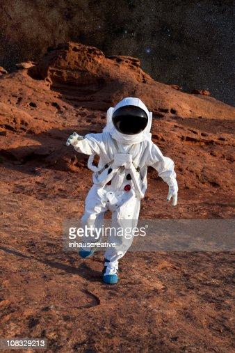 宇宙飛行士にマーズ