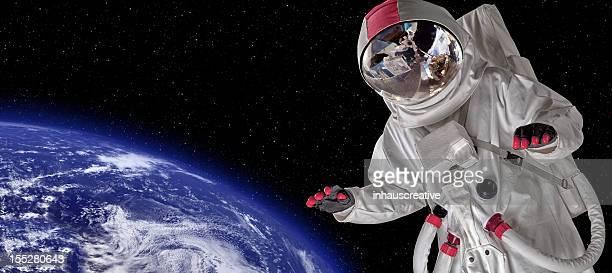 宇宙飛行士宇宙遊泳
