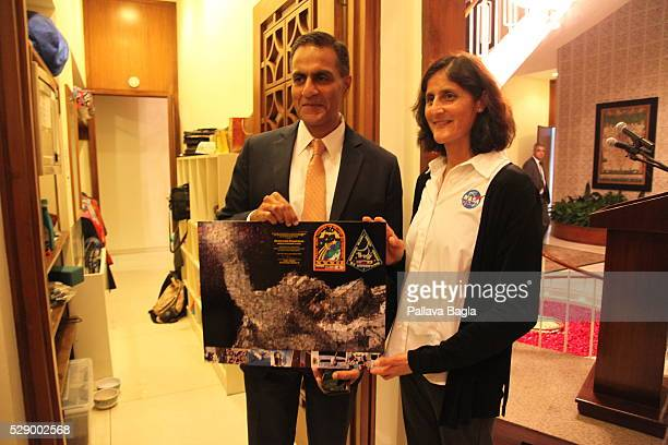 Astronaut Sunita Williams an American astronaut of IndianSlovenian descent She is selected to fly on the first commercial human space flight by NASA...