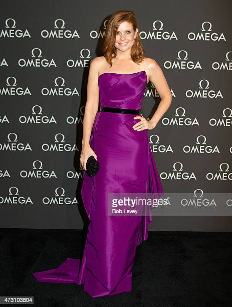 Astronaut Wive's Club's Joanna Garcia Swisher arrives as Omega celebrates the 45th Anniversary of Apollo 13 Mission at Western Airways Airport Hangar...