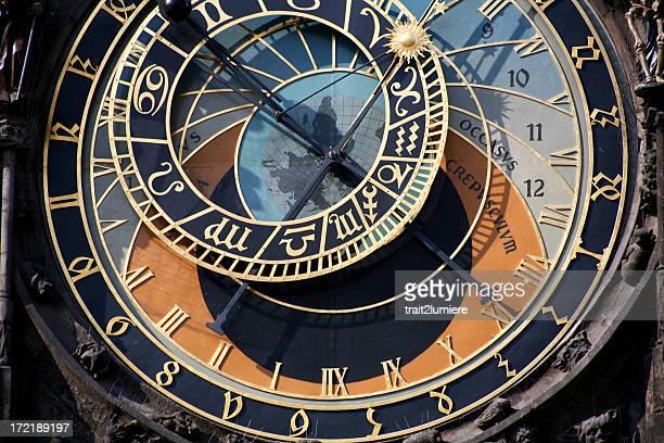 Horloge astronomique de Prague, en République tchèque