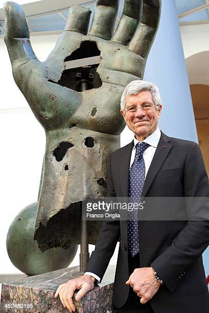 Astrophysicist and president INAF Giovanni Bignami attends the Vittorio De Sica Awards 2013 at Esedra di Marco Aurelio Hall on November 29 2013 in...