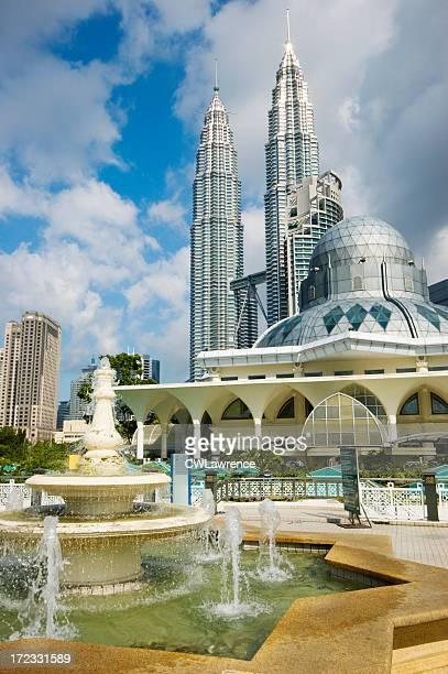 Asy-Syakirin Mosque with Petronas Towers