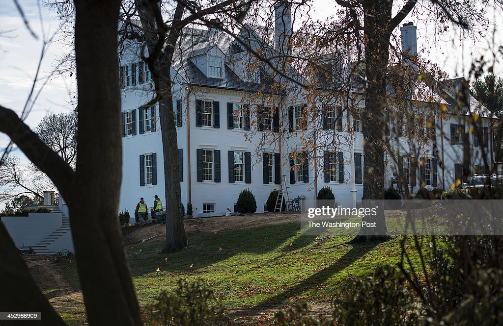 At 1147 Chain Bridge Road the former residence of Bobby and Ethel Kennedy named Hickory Hill is under renovation which is almost completed after...