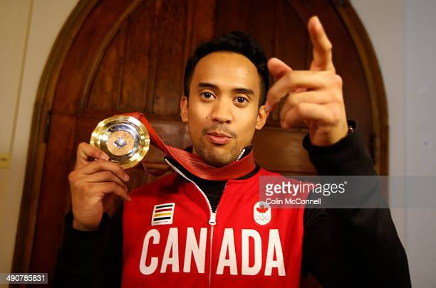 At a heart felt ceremony at King Edward Elementary School in Kitchener this morning selfless Canadian Olympian Gilmore Junio was awarded a oneofakind...