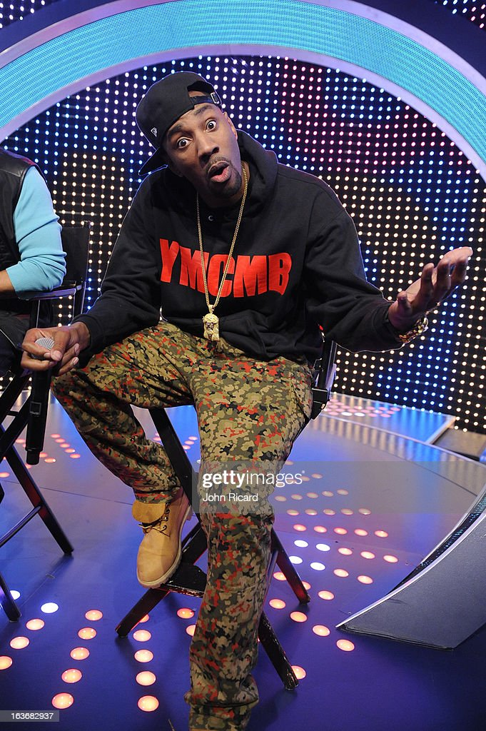 Q45 at BET's '106 & Park' at BET Studios on March 14, 2013 in New York City.