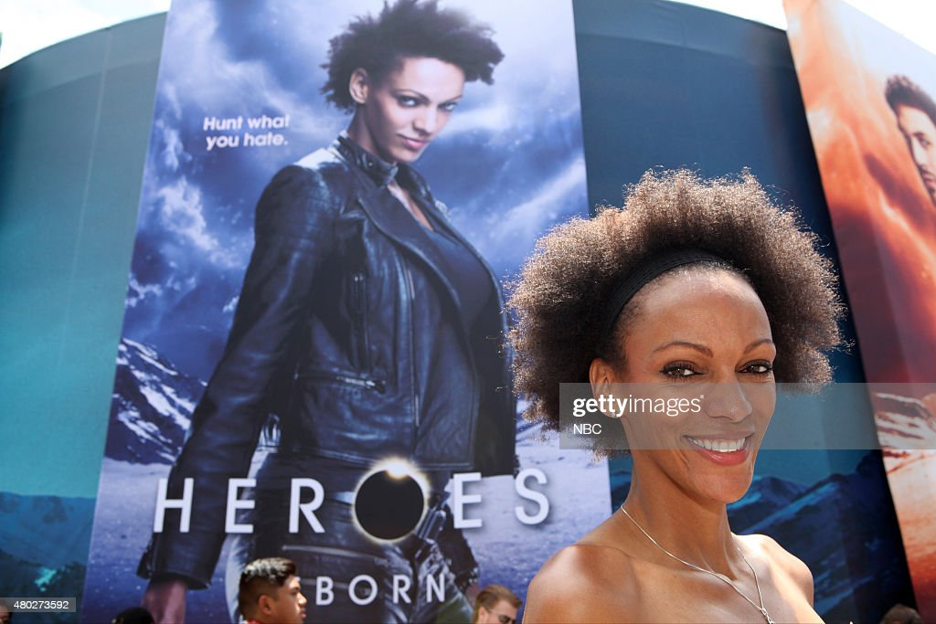 SAN DIEGO 2015 -- 'NBC at Comic-Con' -- Pictured: Judith Shekoni at the 'Heroes Reborn' Installation, Friday, July 10, 2015, from Tin Fish Gaslamp, San Diego, Calif. --