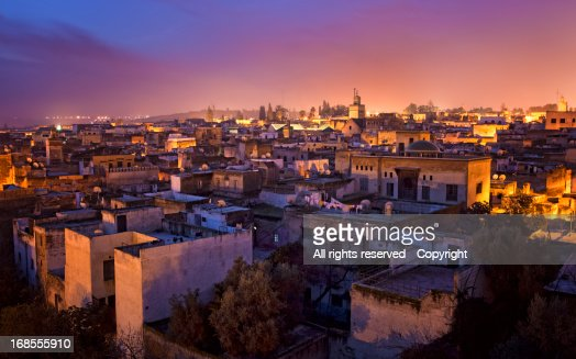 At daybreak in Fez (Morocco)
