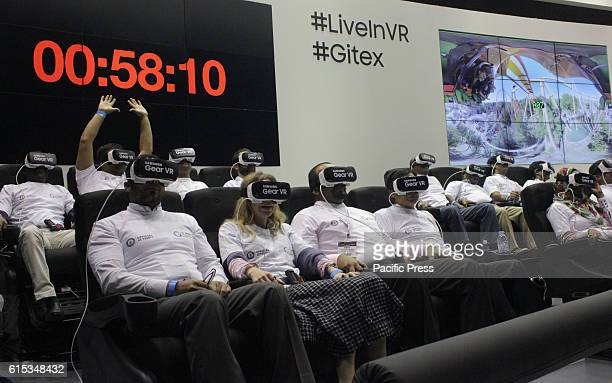 At GITEX Technology Week showcasing the latest virtual reality innovations and breaking world records shows how the show is a platform for serious...