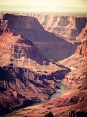 At Grand Canyon national park, USA with summer light