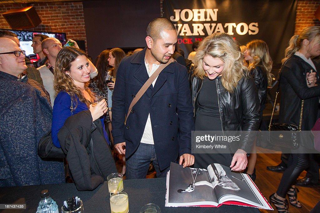 at John Varvatos on November 8, 2013 in San Francisco, California.