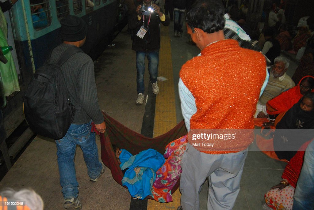 At least 20 persons were killed and many were injured in a stampede at Allahabad railway station, teeming with thousands of pilgrims returning after a holy dip at the Mahakumbh.
