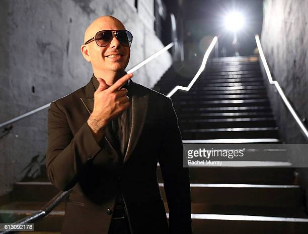 at MetroPCS presents Pitbull powered by Pandora at Create Nightclub on October 6 2016 in Los Angeles California