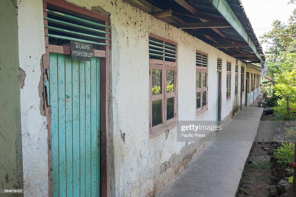 At one of Indonesia's oldest catholic schools abandoned school classrooms Each year the student numbers are reduce because of insufficient funds and...