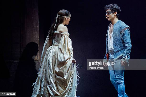 At Pala Alpitour the musical 'Romeo and Juliet Love and changes the world' directed by David Zard Starring Federico Marignetti in the role of Romeo...