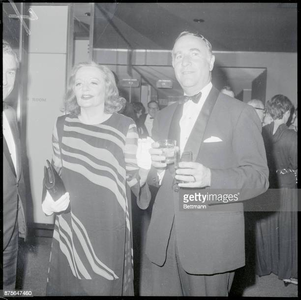 At Party for Dietrich New York New York Maureen O'Sullivan appears deep in thought at the party for Marlene Dietrich following the German born...