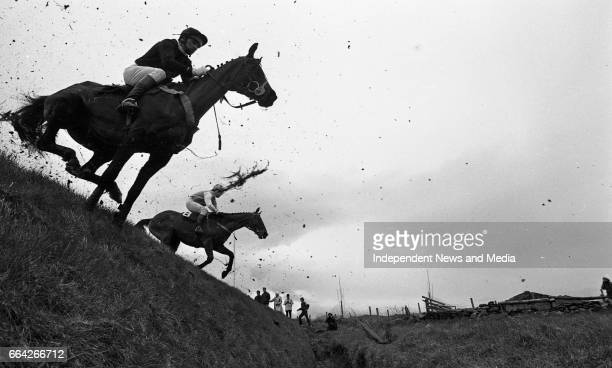 At Punchestown Racecourse Irish National Hunt Festival Punchestown Dublin circa April 1986