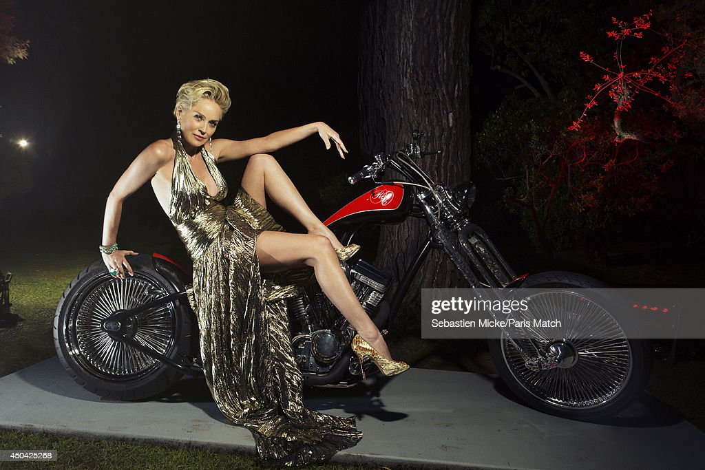 at the 21th Gala of AmFar Cinema Aganist AIDS, <a gi-track='captionPersonalityLinkClicked' href=/galleries/search?phrase=Sharon+Stone&family=editorial&specificpeople=156409 ng-click='$event.stopPropagation()'>Sharon Stone</a> is photographed for Paris Match in Cap d 'Antibes at the Hotel Cap-Eden-Roc on May 22, 2014;