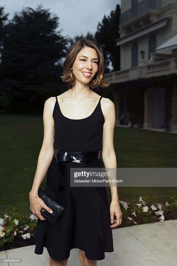 at the 21th Gala of AmFar Cinema Aganist AIDS, <a gi-track='captionPersonalityLinkClicked' href=/galleries/search?phrase=Sofia+Coppola&family=editorial&specificpeople=202230 ng-click='$event.stopPropagation()'>Sofia Coppola</a> wearing a Louis Vuitton dress is photographed for Paris Match in Cap d'Antibes at the Hotel Cap-Eden-Roc on May 22, 2014;