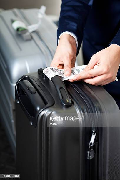 Der airport check-in-Schalter