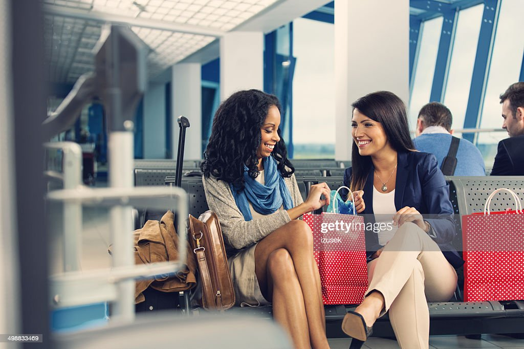 Au salon de l'aéroport : Photo