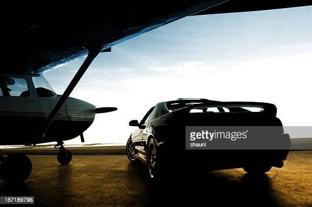 Sur la piste d'atterrissage