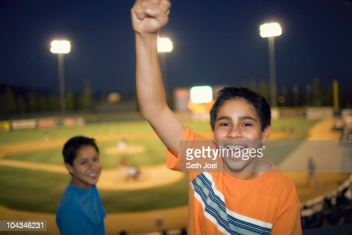 At the Ball Park : Stock Photo