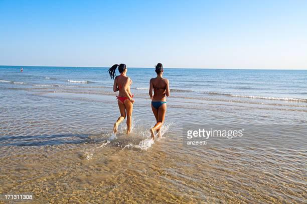 in spiaggia in Italia