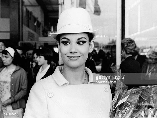 At The Cannes Film Festival On May 6 Claudine Auger Presented Alain Jessua'S Latest Film Jeu De Massacre Which Received The Award For Best Screenplay