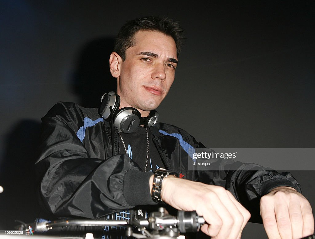 DJ AM at the EMI Post-GRAMMY Party during 2006 EMI Post-GRAMMY Party at Paramount Lot in Los Angeles, California, United States.