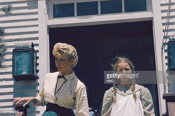 PRAIRIE 'At the End of the Rainbow' Episode 10 Aired Pictured Charlotte Stewart as Eva Beadle Melissa Gilbert as Laura Ingalls Wilder Photo by NBCU...