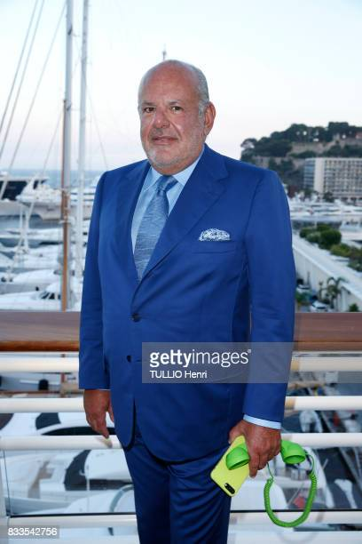 at the evening for Ira Furstenbergh designer jewelry exhibition at the YachtClub Maurice Amon on july 24 2017 in Monaco